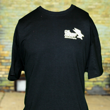 CHL Tarrant County Men Shirt Front Full Black